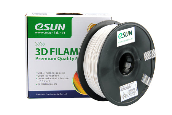Clearance eSUN Bio-Flexible Filament Natural 1kg (2.2lb) Spool 1.75mm