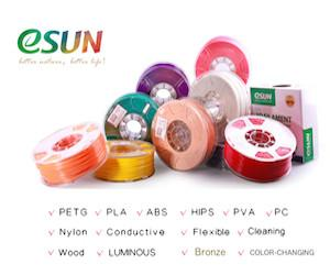 Clearance eSUN PETG 3mm 10 spool whole Case (Total 10KG/22lbs filaments per case)
