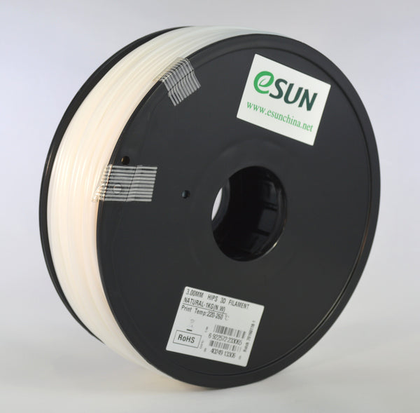 eSUN HIPS Filament 3mm/2.85mm 1kg Spool