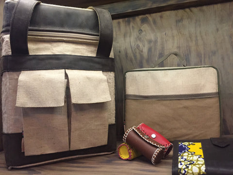 Mara Square Cooler, Lunch Box (Both Insulated), Lipstick / Coin Purse and Travel Wallet