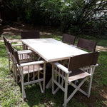 Garden Set: Table, SAB Chairs & Umbrella