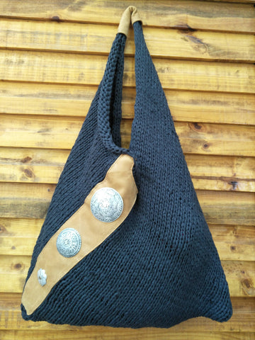 Knitted Boho Bag