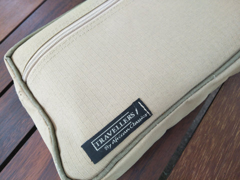 Shaving Bag - Safari Standard