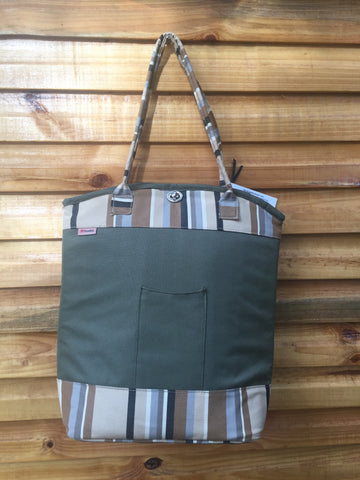 Mara Cooler Bag (Striped)