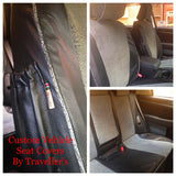 Vehicle Seat Covers (Custom) - Canvas Only (Price Per Seat)