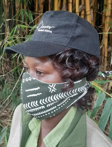 Non Medical Face Mask Cotton Print (Pack of 2 Inclusive of Delivery PLUS x1 Donation in Kenya)