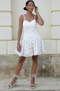 Boutique Dress Blanche White