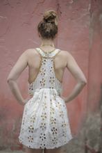 Load image into Gallery viewer, Boutique Dress Peekaboo White