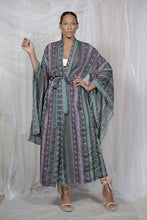 Load image into Gallery viewer, Kimono Purple Clouds