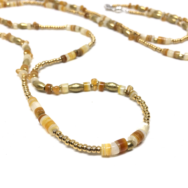 South China Sea SHELL AND CITRINE WRAP