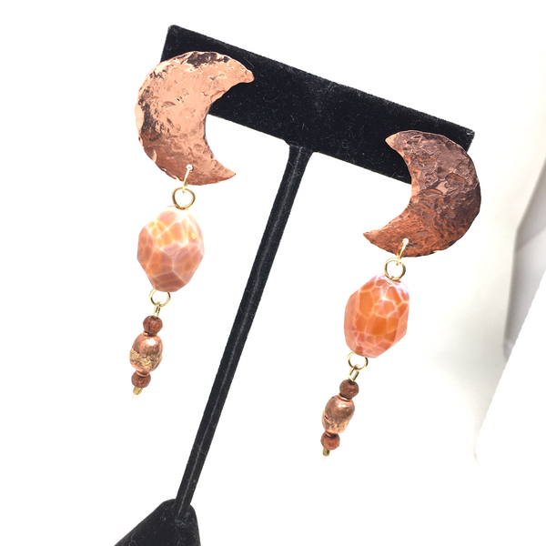 GODDESS of MOON & FIRE Earrings