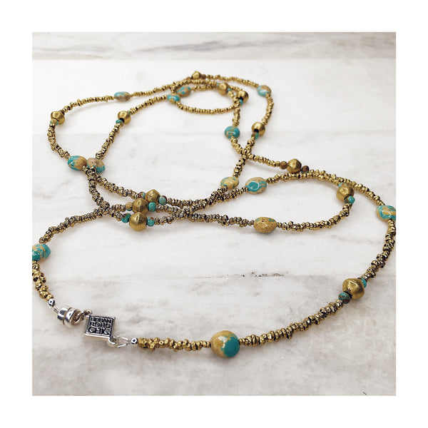Earth & Sky Campitos Turquoise Wrap