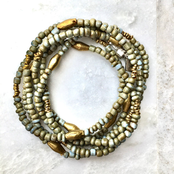 Plains Wrap - Olive Goomba & African Brass
