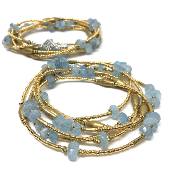 The Ocean AQUAMARINE WRAP