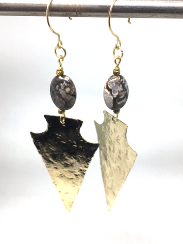 Ancient Earth Earrings