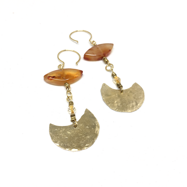 Sacred Moon Earrings