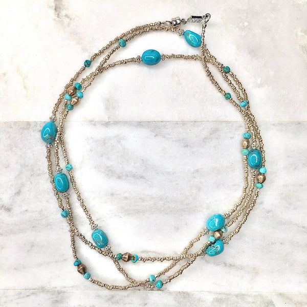 Kiss the Sky Kingman Mine Turquoise Wrap