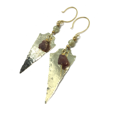 GREEN GARNET Dreamer Earrings