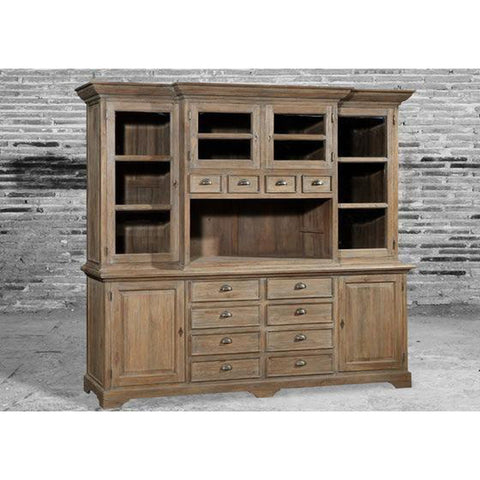 Teak Wood Display Cabinets