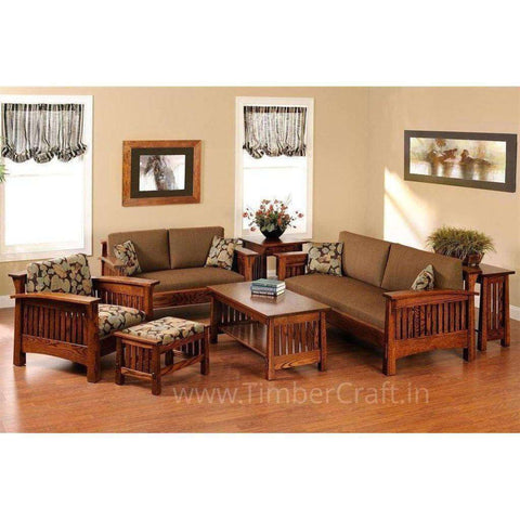 Teak Wood Sofa Sets Online