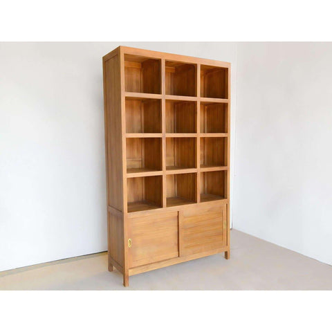 Teak Wood Bookshelves
