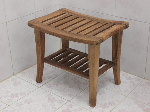 Teak Shower Bench for your Home or Spa
