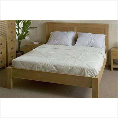 TimberCraft Beds Contemporary Teak Bed TBD-1101