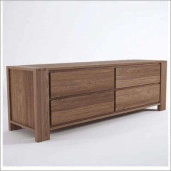 TimberCraft Chest Of Drawer Teak Chest Of Drawers TCD-1005