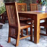 TimberCraft Dining Sets Teak Wood  Contemporary Dining Set TDT-2501