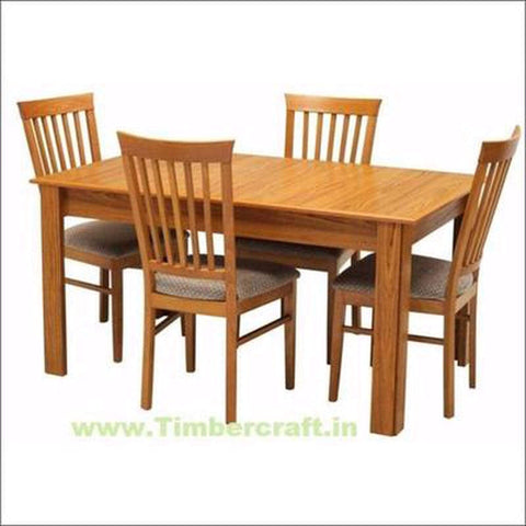 TimberCraft Dining Sets Teak Wood Dining Table Set TDT-1001
