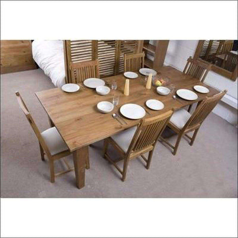 TimberCraft Dining Sets Teak Wood Dining Table Set TDT-1201