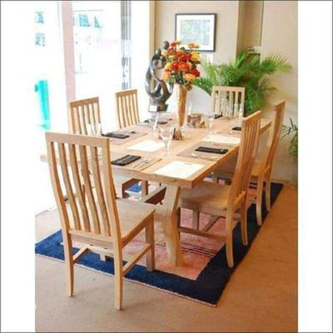 TimberCraft Dining Sets Teak Wood Dining Table Set TDT-1301