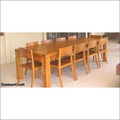 TimberCraft Dining Sets Teak Wood Dining Table Set TDT-1401