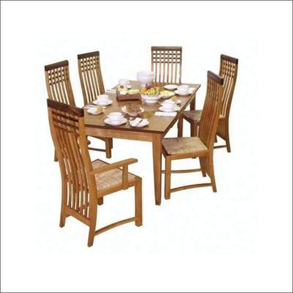 TimberCraft Dining Sets Teak Wood Dining Table Set TDT-1501