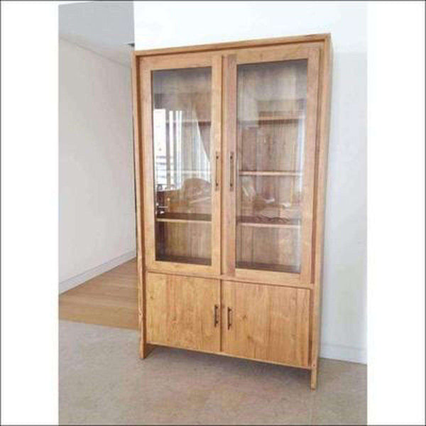 TimberCraft Display Unit Teak Wood Display Cabinet TDC-1001
