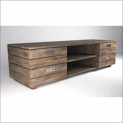 TimberCraft TV Units Contemporary Teak TV Cabinet TVC-1016