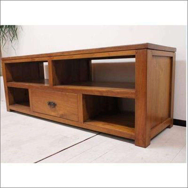 TimberCraft TV Units TV stand in solid teak ( TVC-1006 )