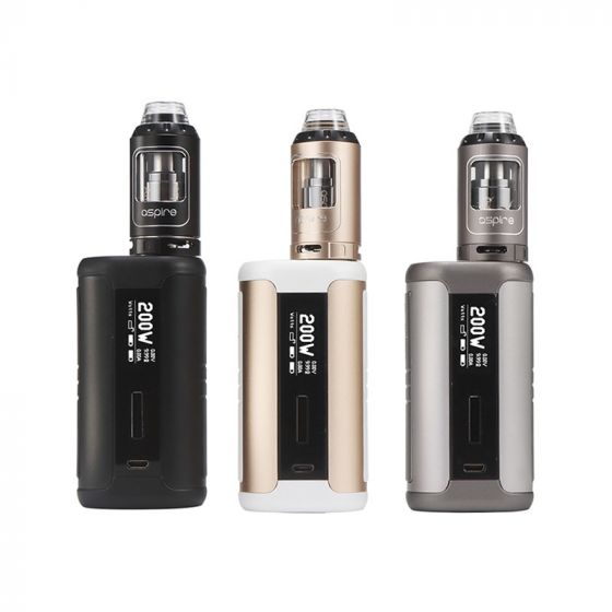 ASPIRE SPEEDER 200W KIT WITH 4ML ATHOS TANK