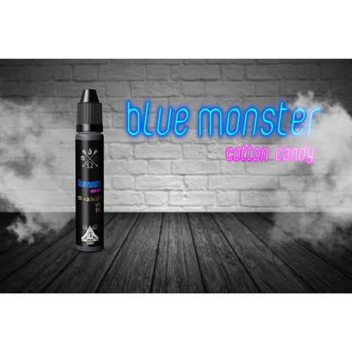 Blue Monster Cotton Candy