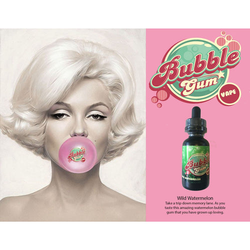 Wild Watermelon - Bubble Gum Vape