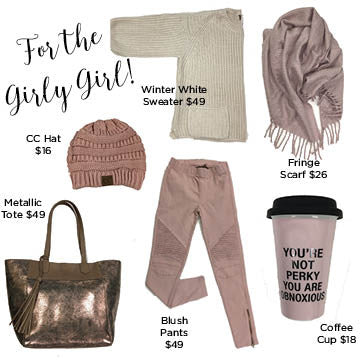 Gift Guide for the Girly Girl!!
