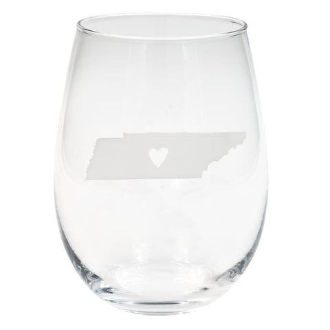 Tennessee wine glass