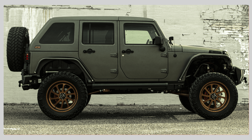 Targa Fastback Jeep Hardtop by Lifted Off Road Products | Lifted Off
