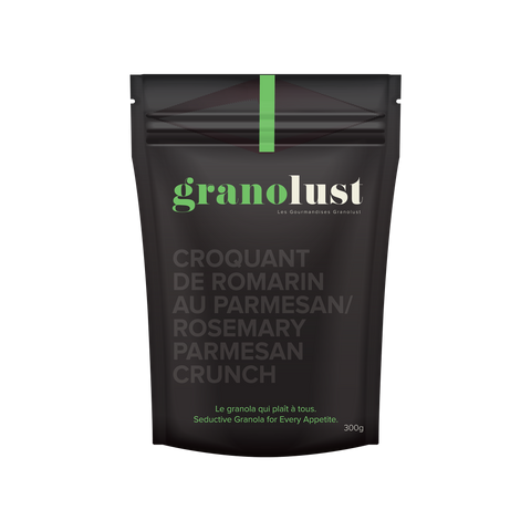 GRANOLUST ROSEMARY PARMESAN CRUNCH
