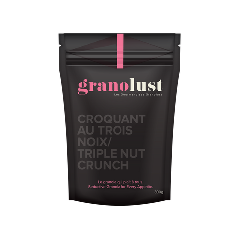 GRANOLUST TRIPLE NUT CRUNCH