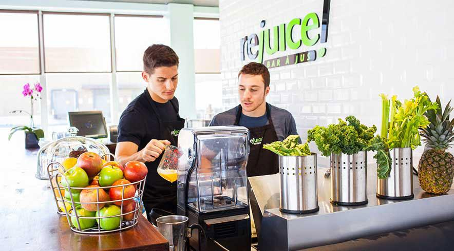 Try a Smoothie at our Juice Bar