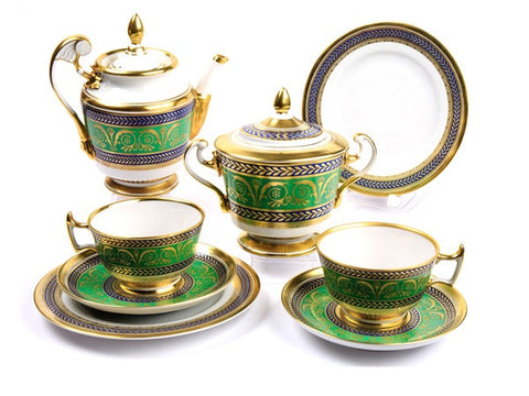 Tea set Golden Alexandria 6/20