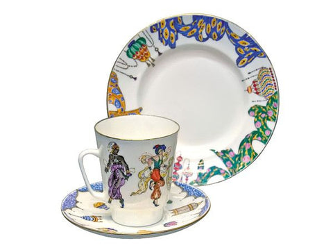 3 piece tea set Ballet Scheherezada