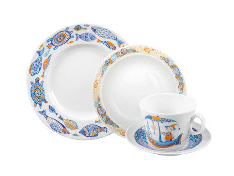 4 piece tea set Youth Marine trips