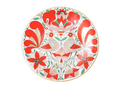 Decorative plate  Ellipse Fairy bird